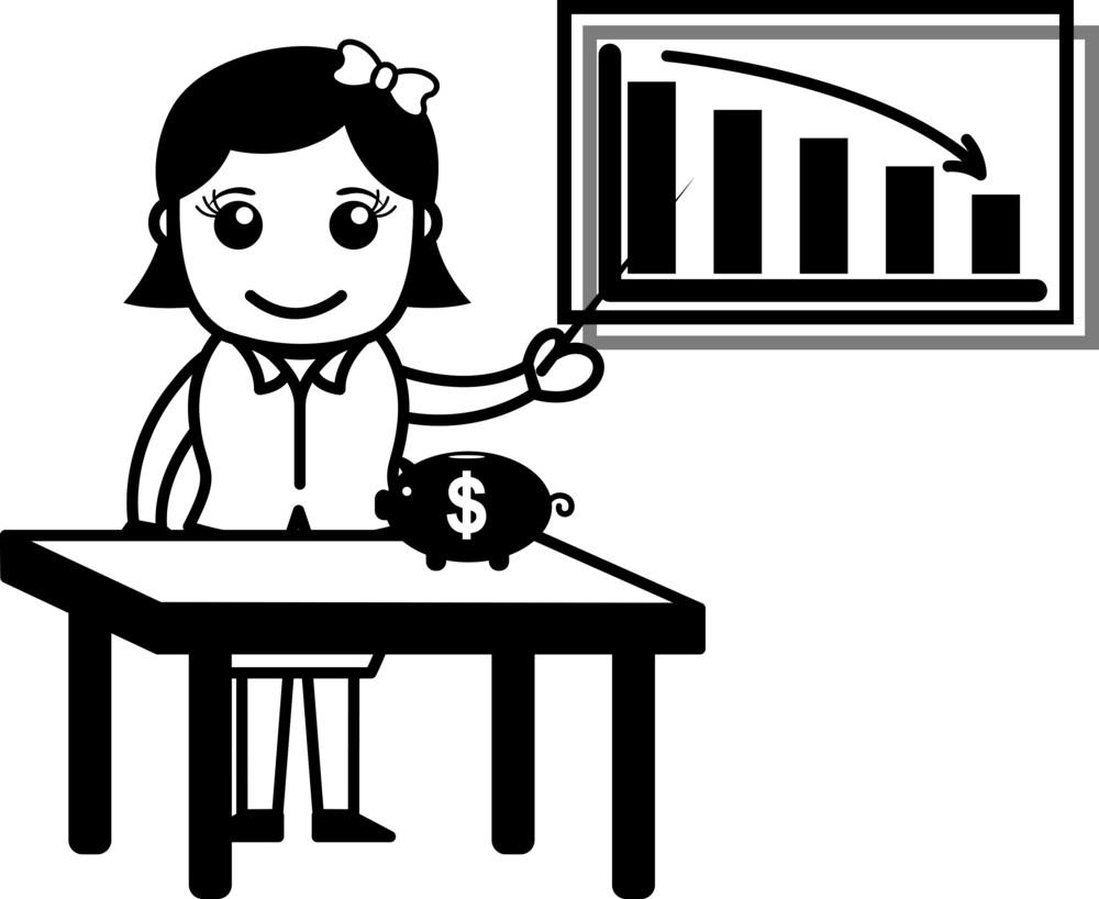Grow Savings - Vector Illustration