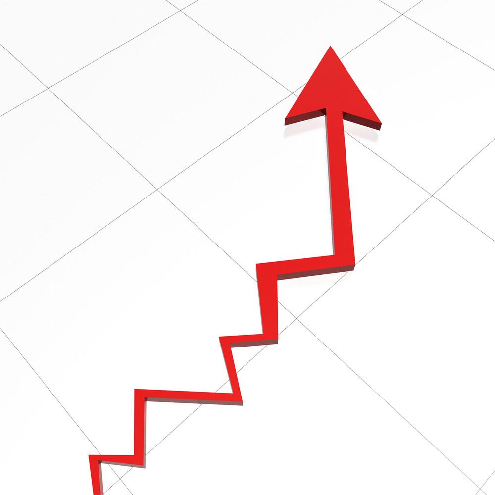 Growing Business Arrow