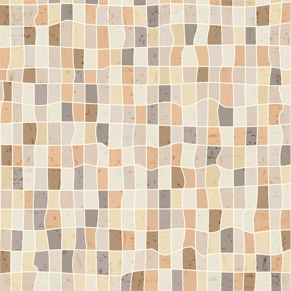Grunge Abstract Mosaic Background