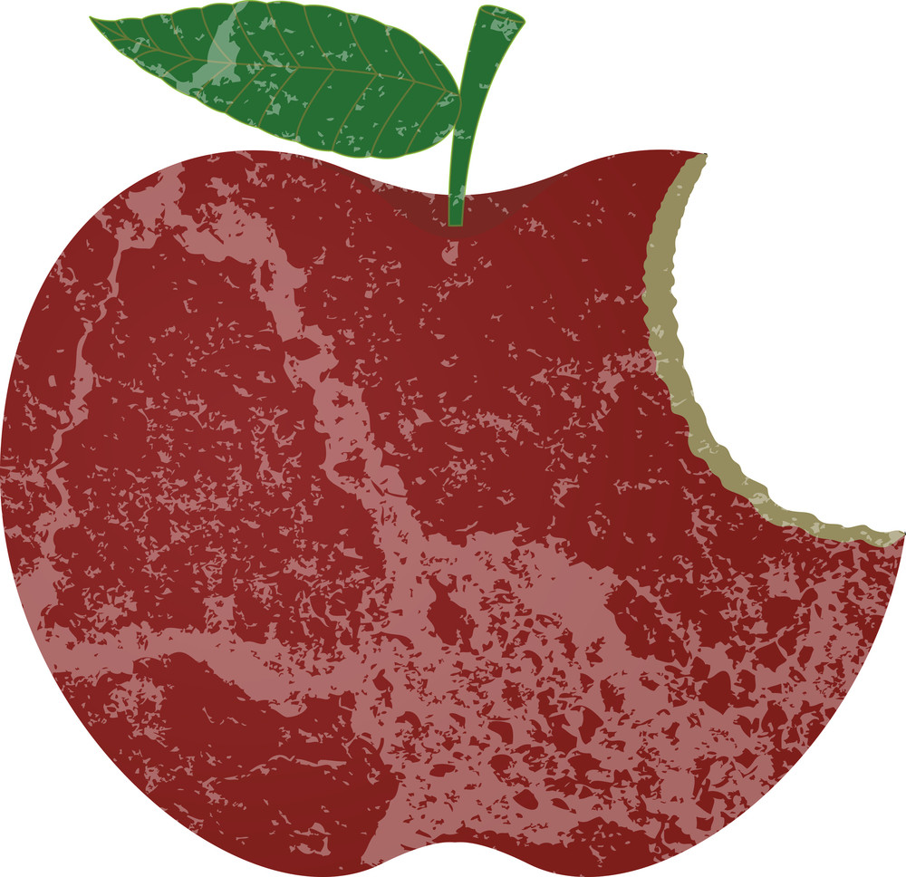 Grunge Apple Bite