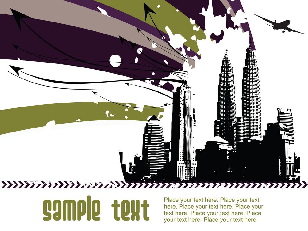 Grunge Architecture Background