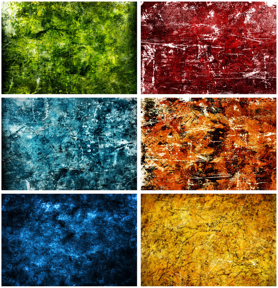Grunge Background Set