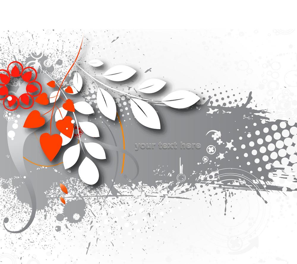 Grunge Background Vector Illustation