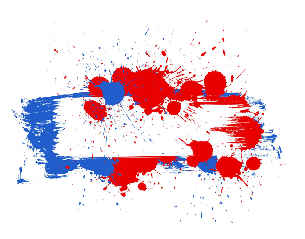 Grunge Banner 4th Of July Vector Theme Design
