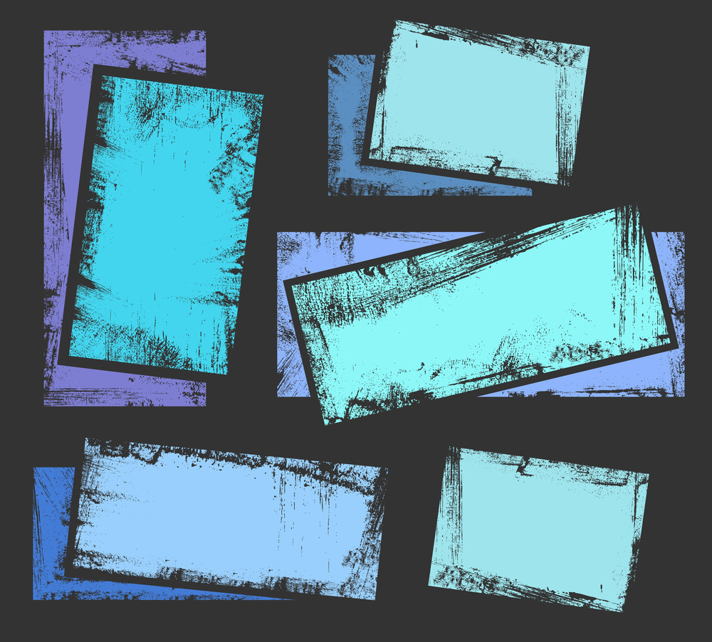 Grunge Banners And Background Vector For Various Use