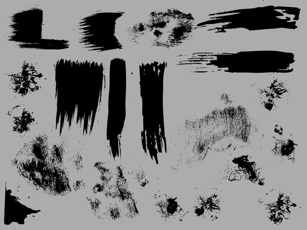Grunge Brush Strokes N Designs