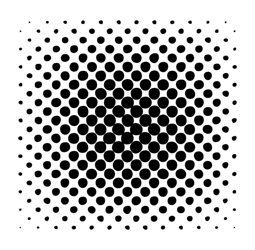 Grunge Circles Pattern Background