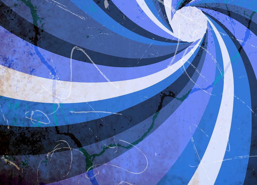 Grunge Circular Background