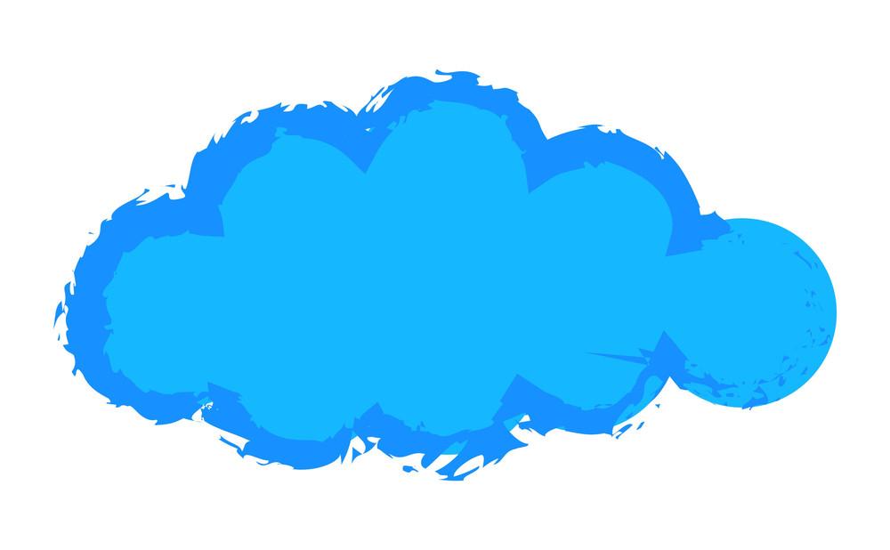 Grunge Cloud Banner