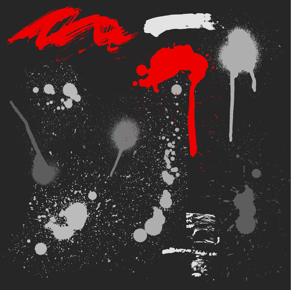 Grunge Dirty Stains Vectors