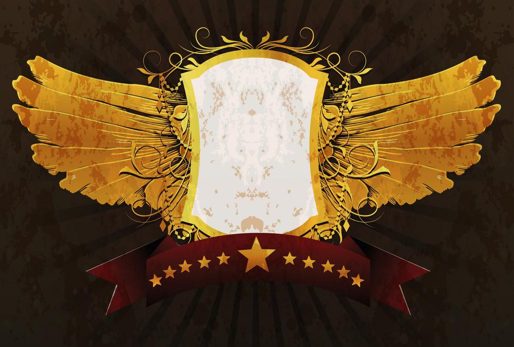 Grunge Emblem Vector Illustration
