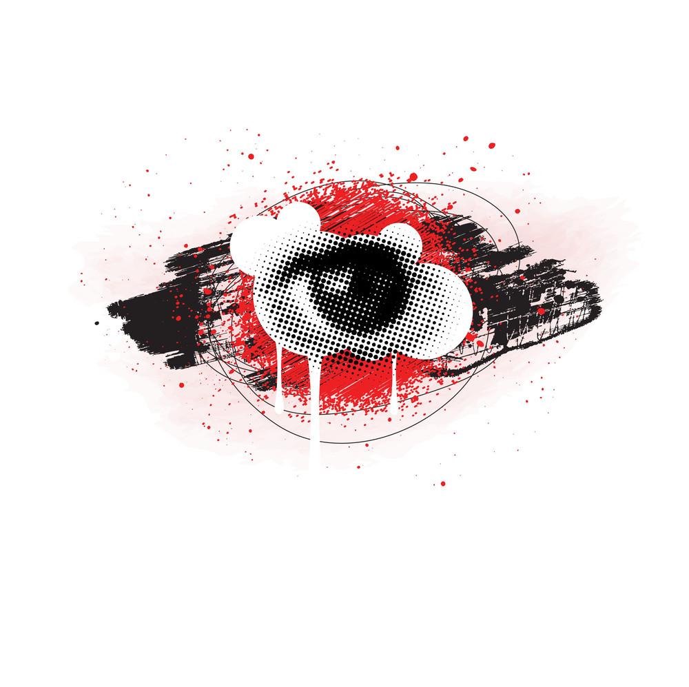Grunge Eye Design