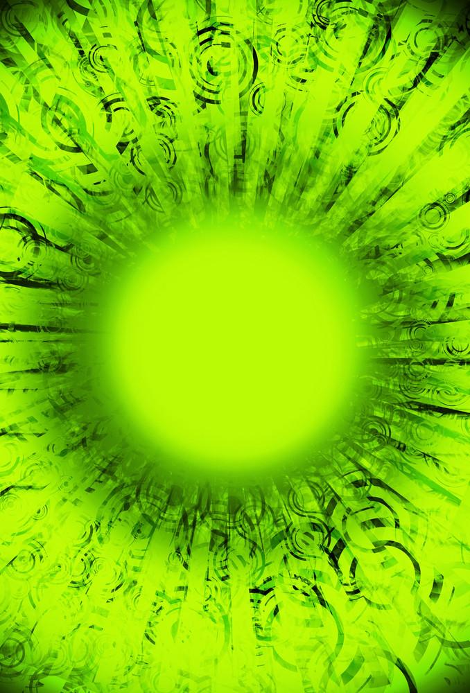 Grunge Fluo Green