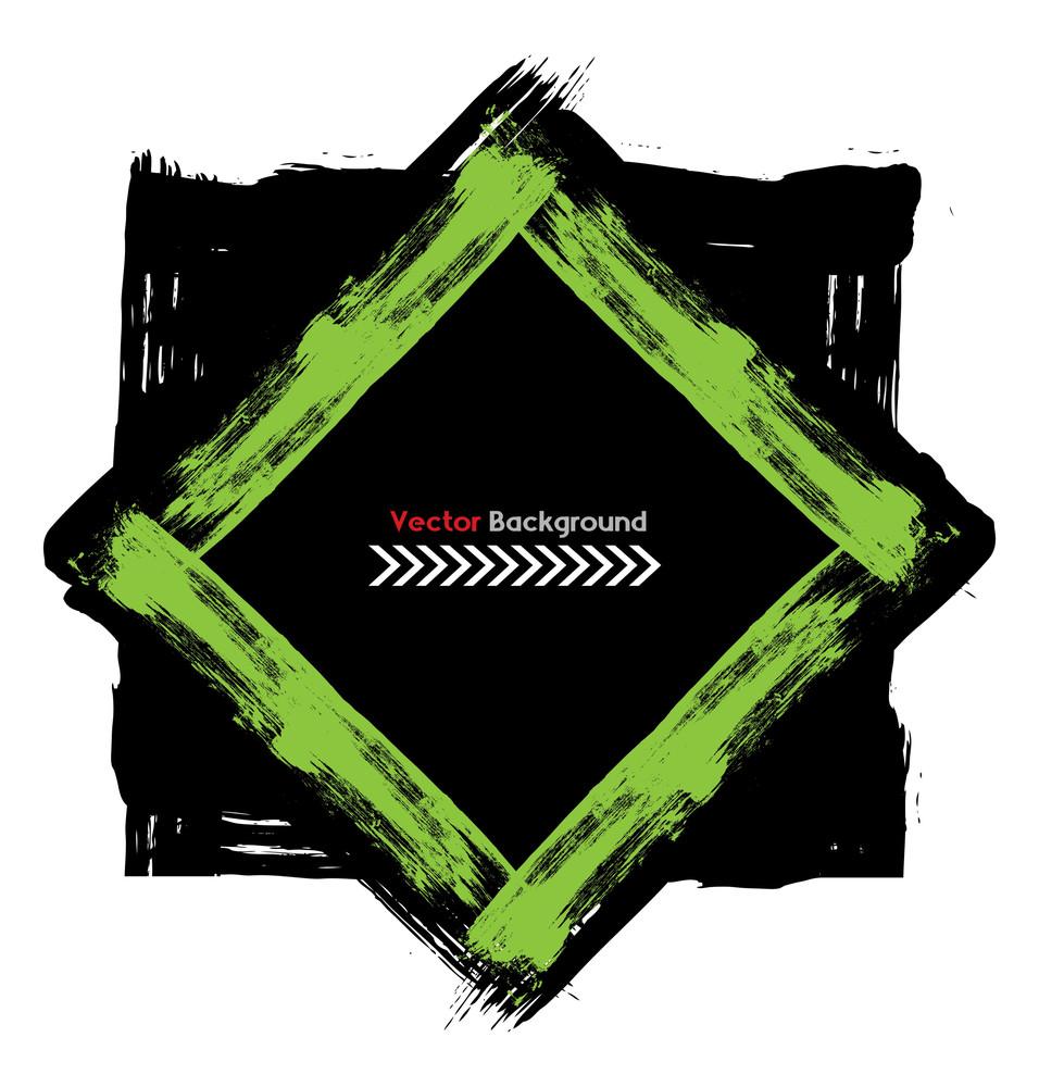 Grunge Frame Banner