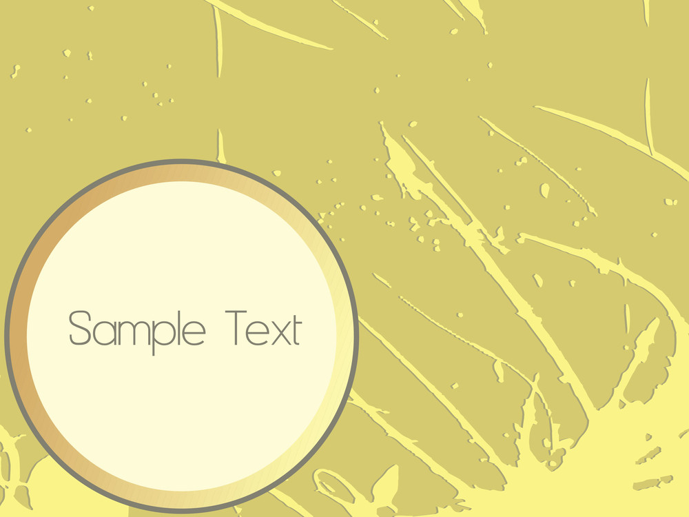 Grunge Green Background For Sample Text