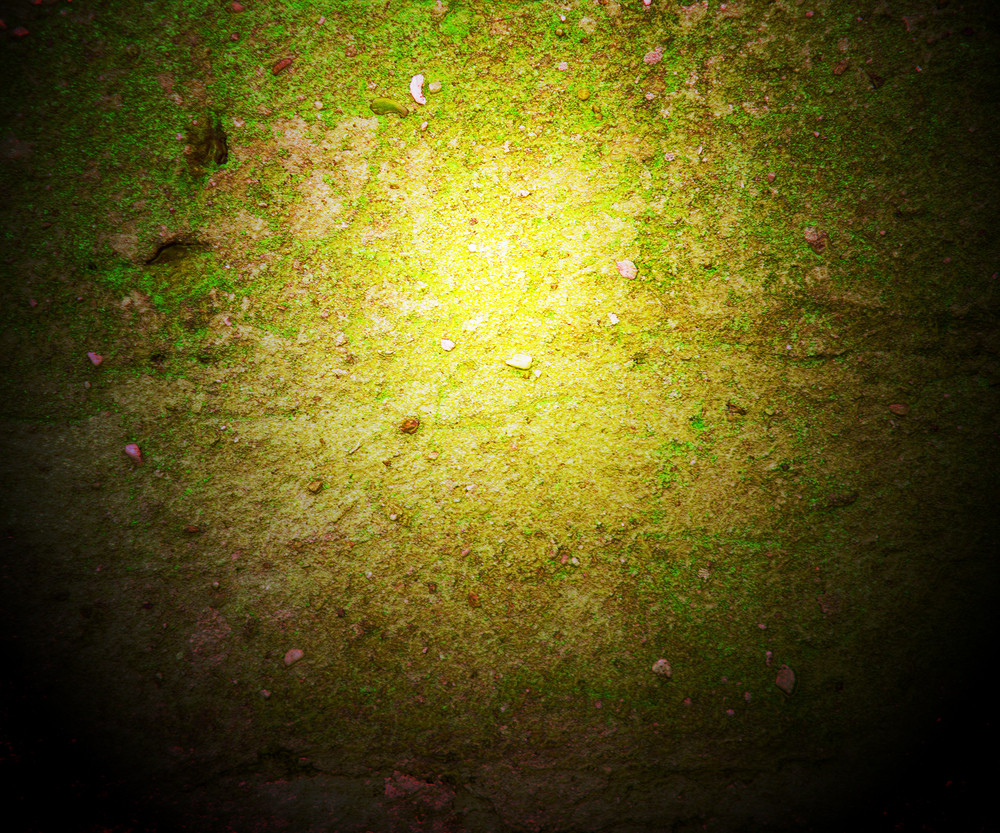 Grunge Green Wall Dark Background