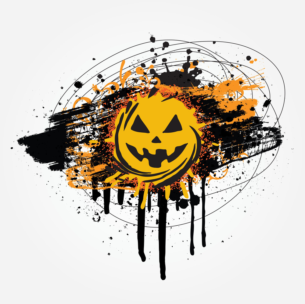 Grunge Halloween Design