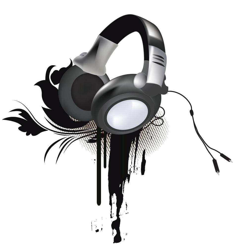 Grunge Headphones