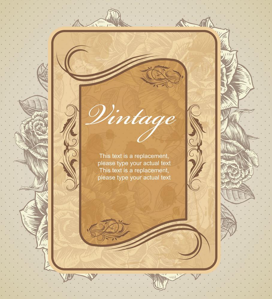 Grunge Label Vector Illustration