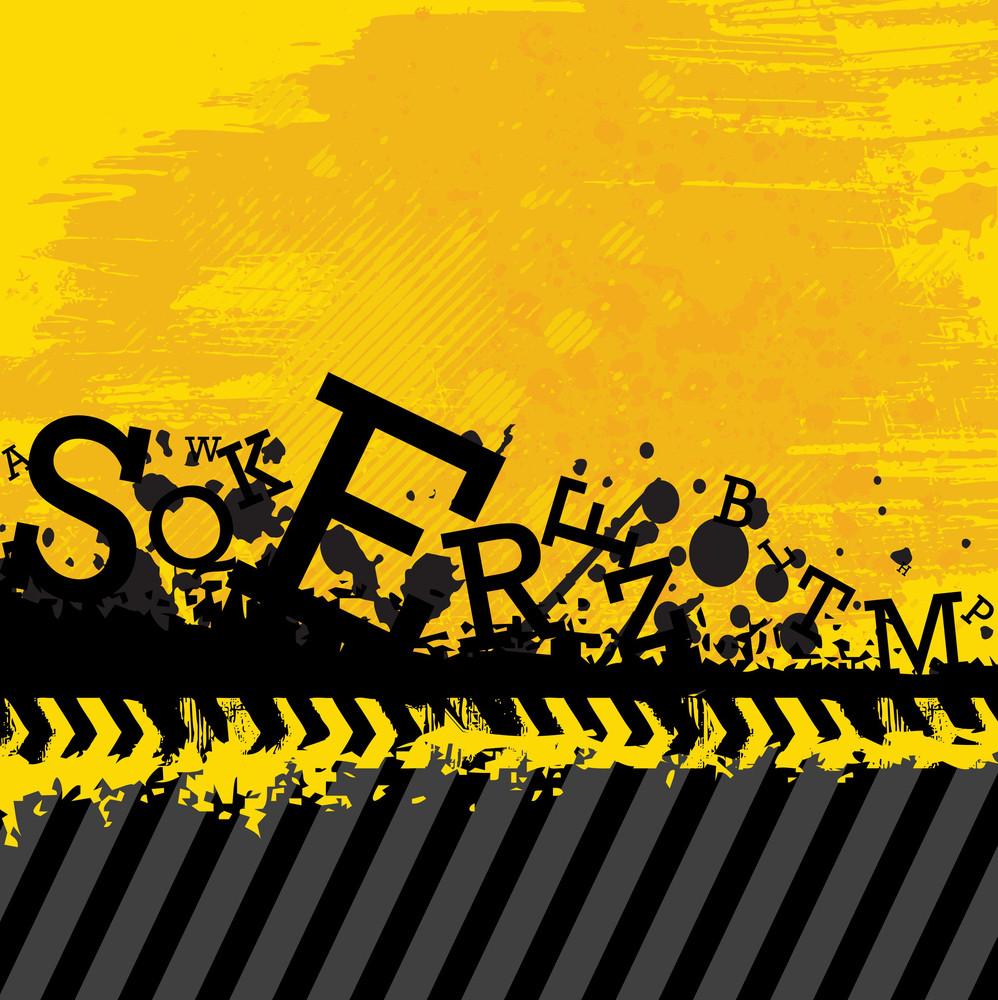Grunge Letters Design