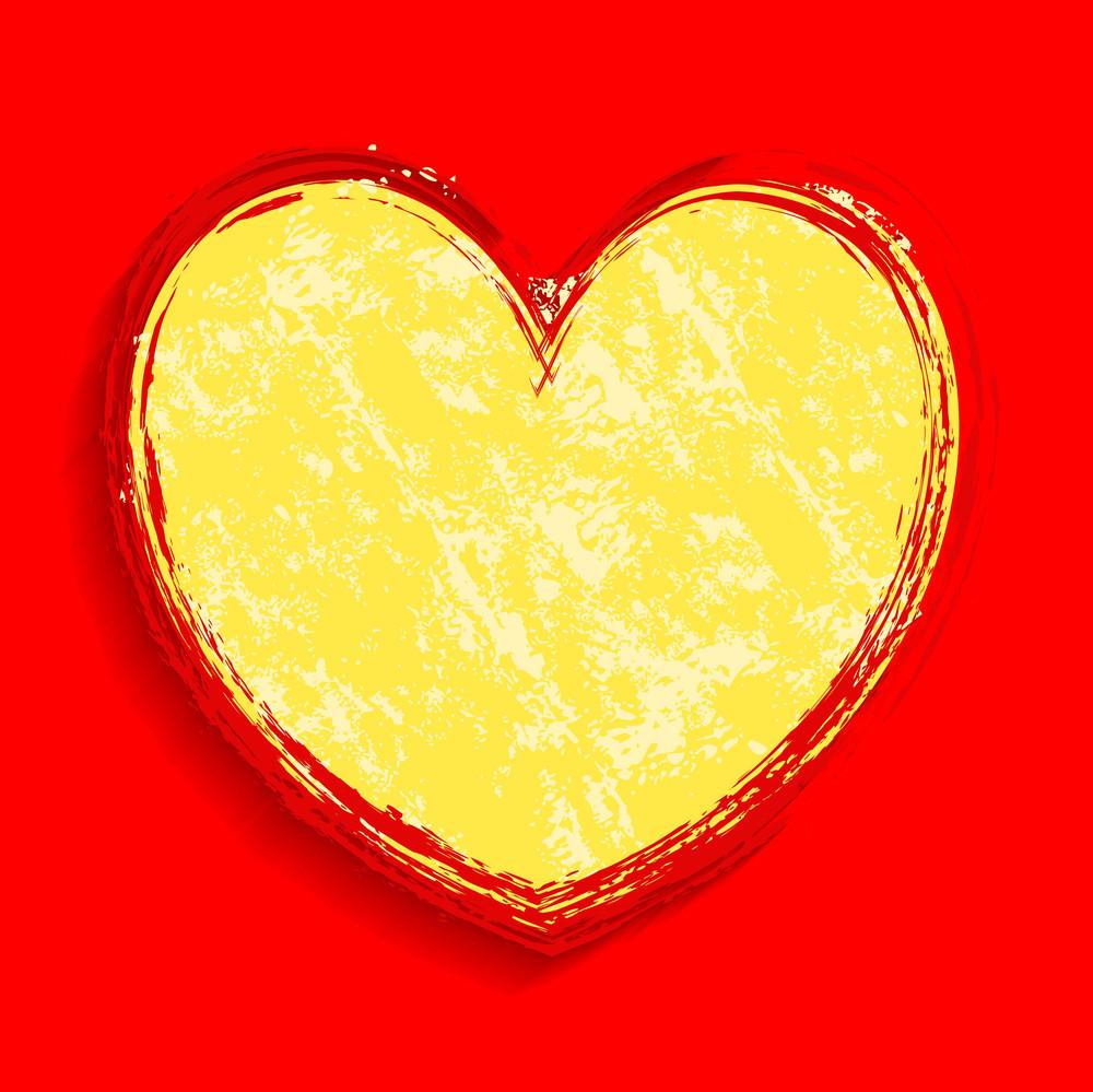 Grunge Love Heart