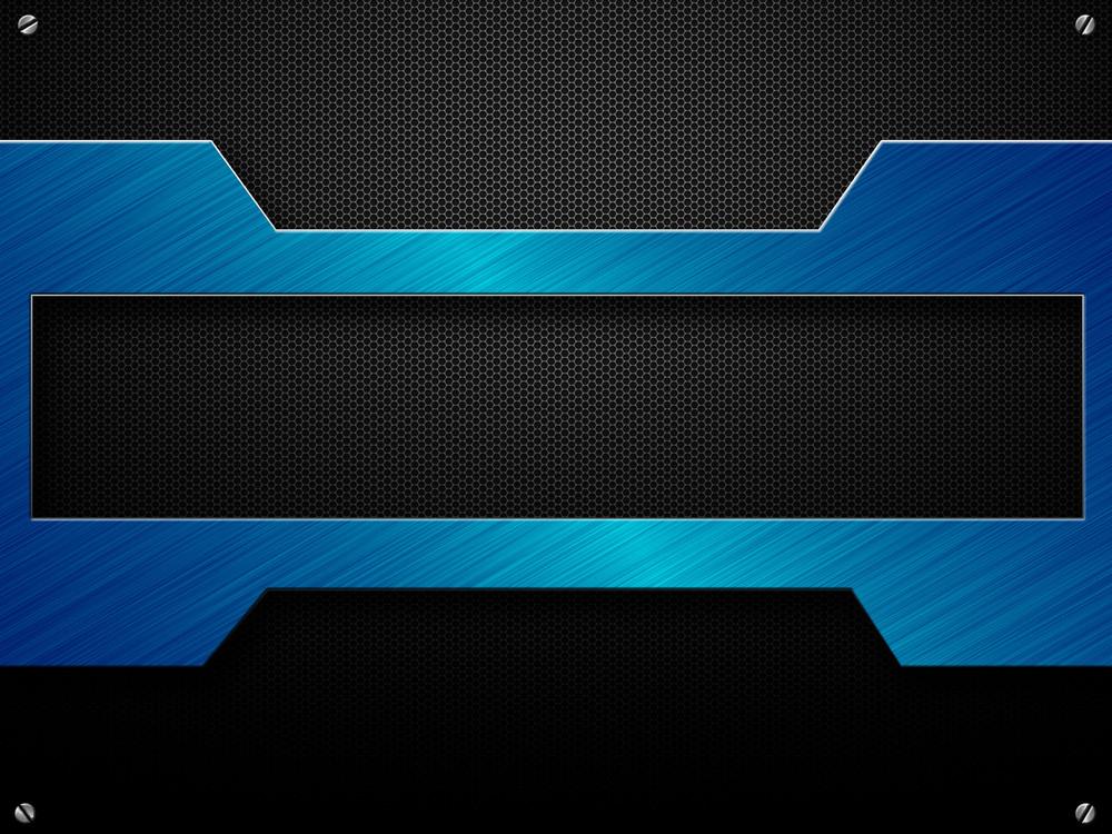 Grunge Metallic Banner
