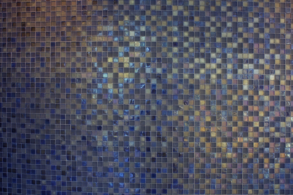 Grunge Mosaic Tiles Texture Background