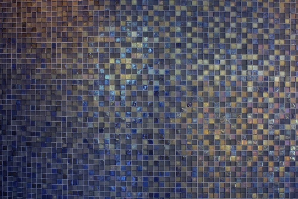 Grunge Mosaic Tiles Texture Background