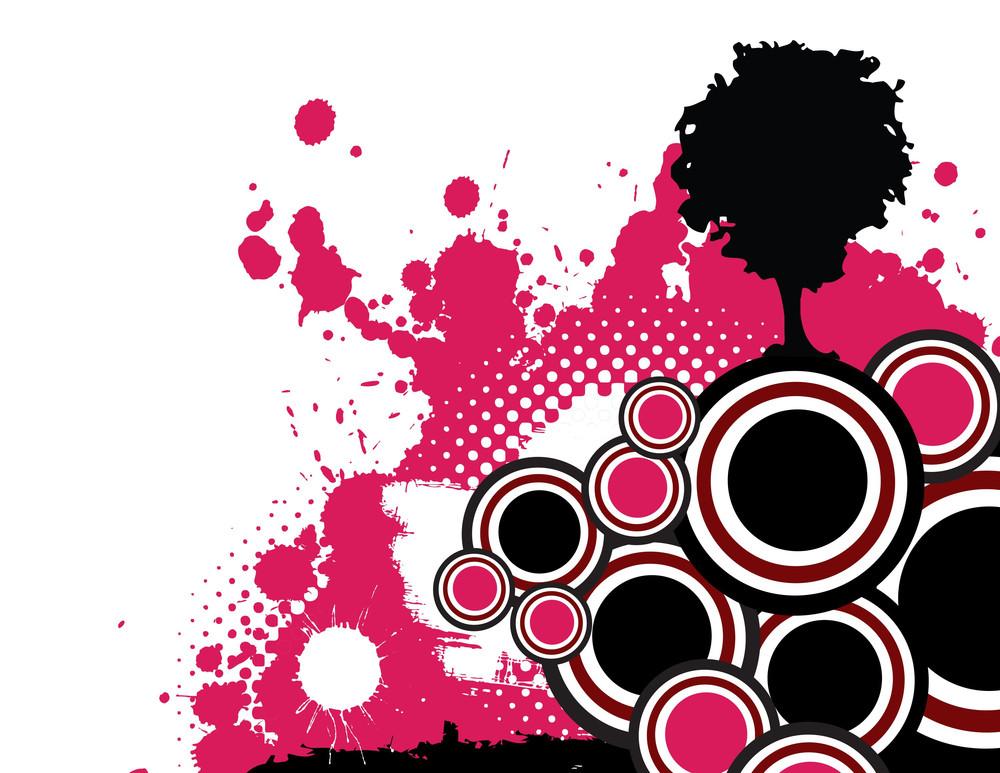 Grunge Pink Design