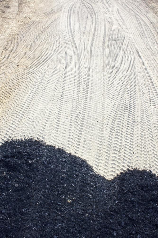 Grunge Prints On Soil