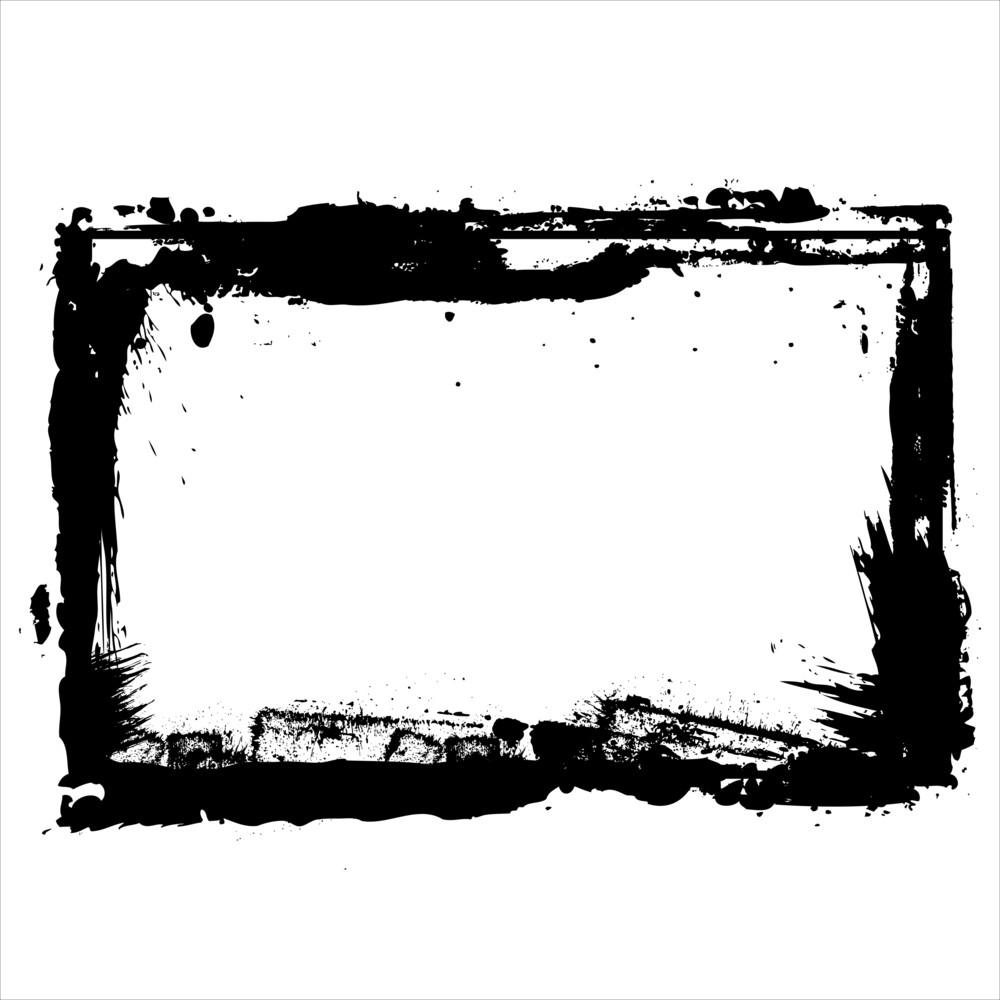 Grunge Retro Frame Royalty-Free Stock Image - Storyblocks Images