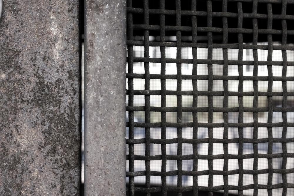 Grunge Rusty Net Background