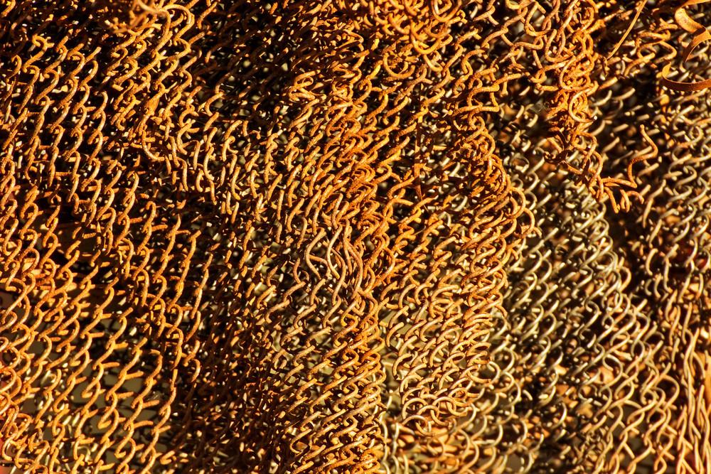 Grunge Rusty Net Texture