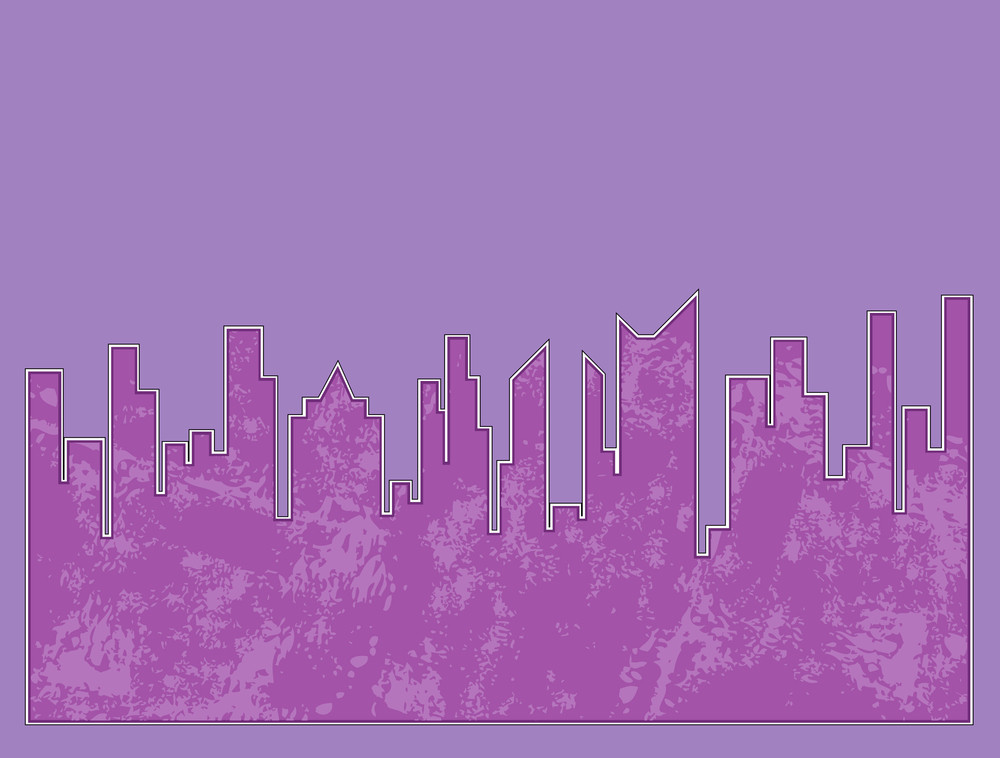 Grunge Skyscraper Background