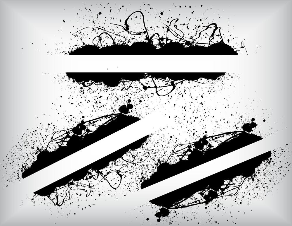 Grunge Splash Banners