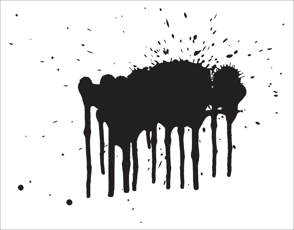 Grunge Splash Spray