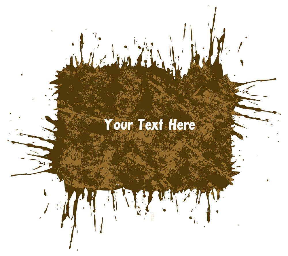 Grunge Texture Banner Design