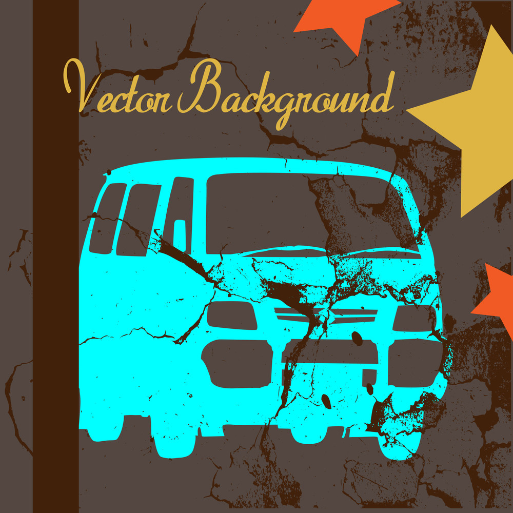 Grunge Texture Car Backdrop