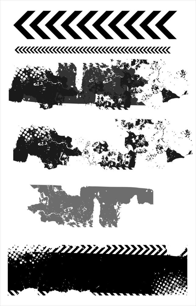 Grunge Texture Elements