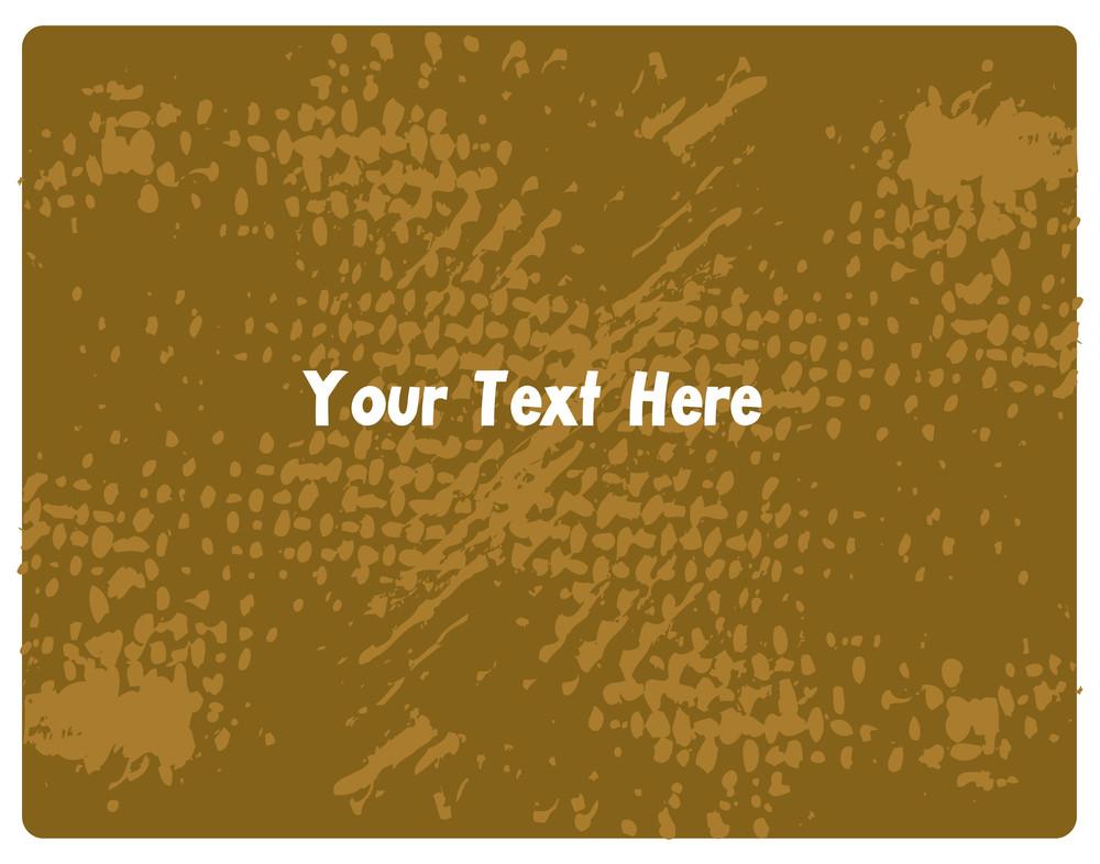 Grunge Texture Retro Banner