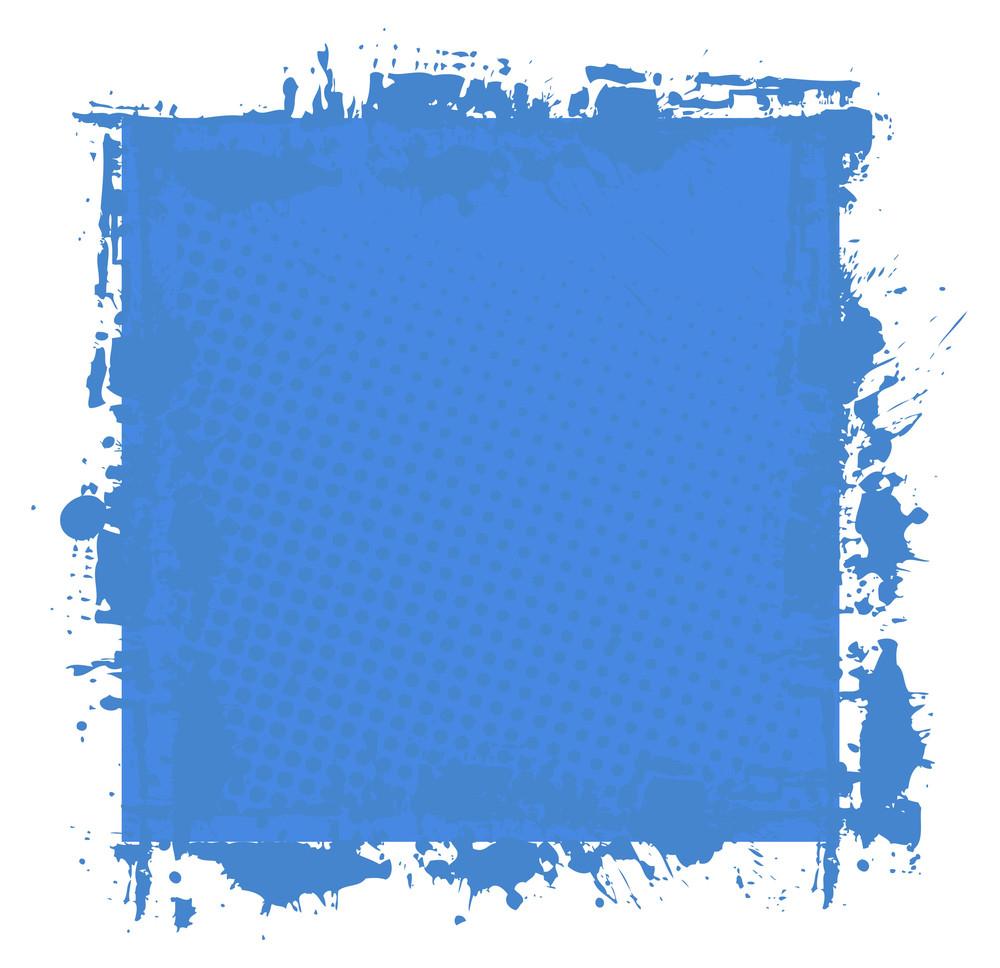 Grunge Texture Splash Banner Vector