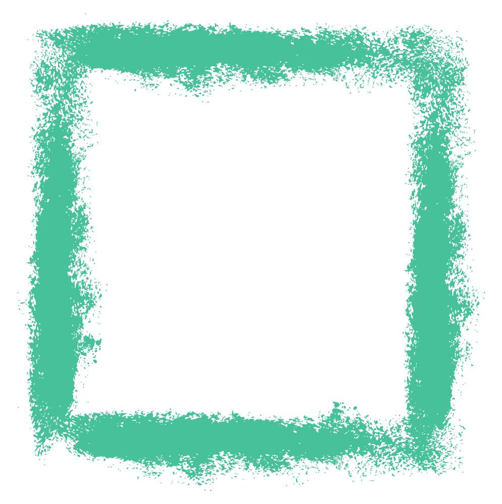 Grunge Texture Splash Frame