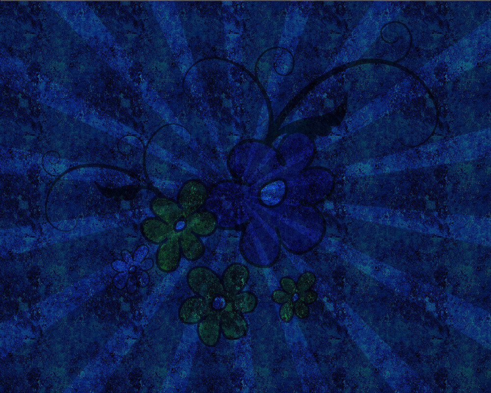 Grunge Texture Sunburst Background