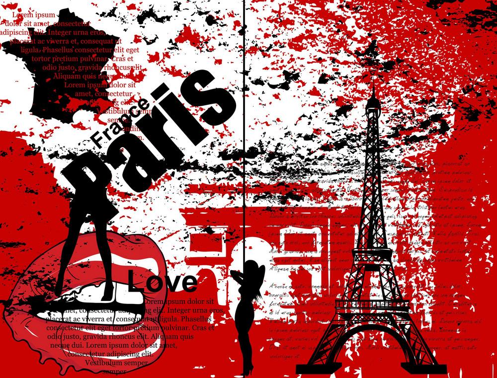 Grunge Urban Background Vector Illustration