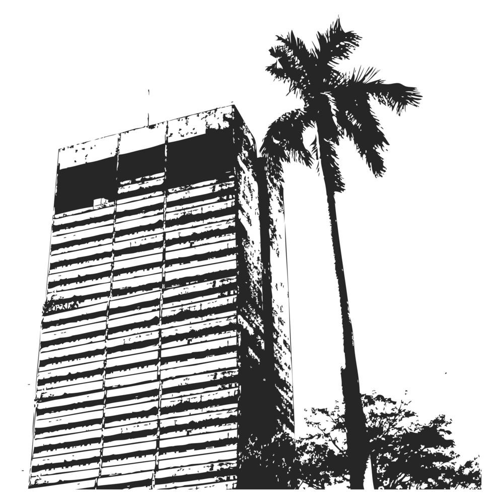 Grunge Urban Building Background