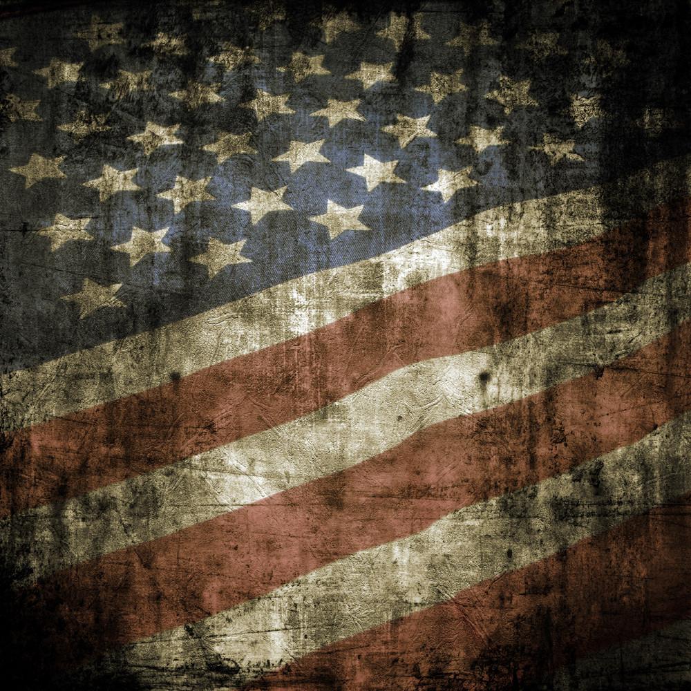 垃圾美國國旗