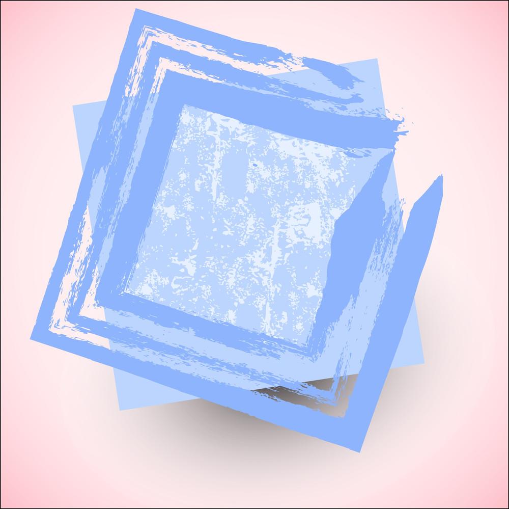 Grunge Vector Frame Design