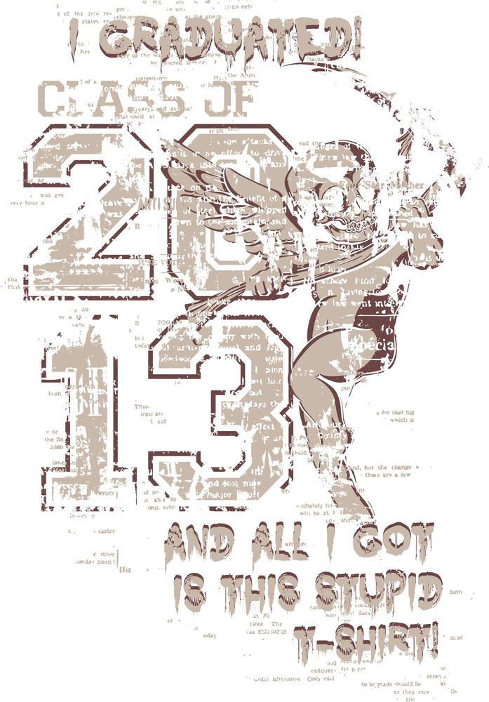 Grunge Vector T-shirt Design
