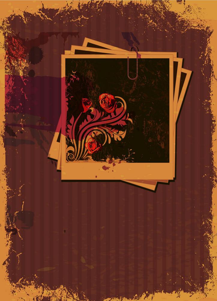 Grunge Vintage Background Vector Illustration