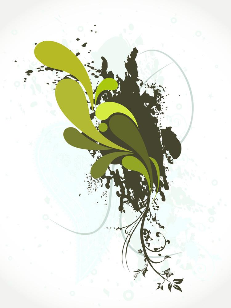 Grunge With Creative Artwork